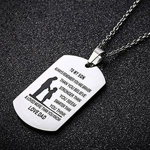 Jewelry - New Dad Mom To Son Daughter Birthday Gift Necklace